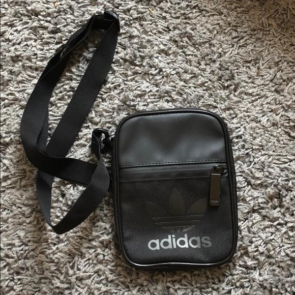 9aeded40ec7 adidas Bags   Originals Side Pouch Zipper Crossbody Bag   Poshmark